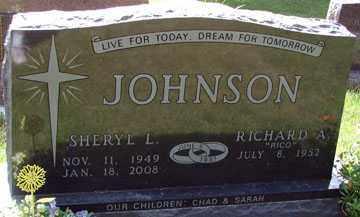 JOHNSON, RICHARD A, - Minnehaha County, South Dakota   RICHARD A, JOHNSON - South Dakota Gravestone Photos