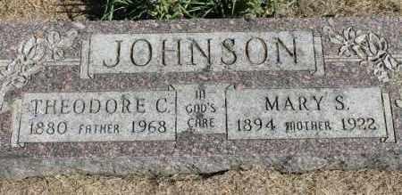 JOHNSON, MARY S. - Minnehaha County, South Dakota   MARY S. JOHNSON - South Dakota Gravestone Photos