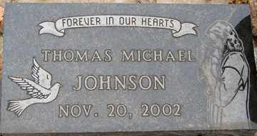 JOHNSON, THOMAS MICHAEL - Minnehaha County, South Dakota | THOMAS MICHAEL JOHNSON - South Dakota Gravestone Photos