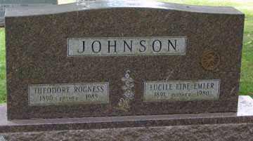 JOHNSON, LUCILE E. - Minnehaha County, South Dakota | LUCILE E. JOHNSON - South Dakota Gravestone Photos