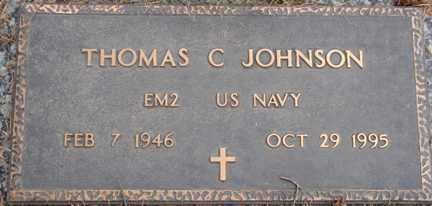 JOHNSON, THOMAS C. - Minnehaha County, South Dakota   THOMAS C. JOHNSON - South Dakota Gravestone Photos