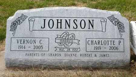 JOHNSON, VERNON C. - Minnehaha County, South Dakota | VERNON C. JOHNSON - South Dakota Gravestone Photos
