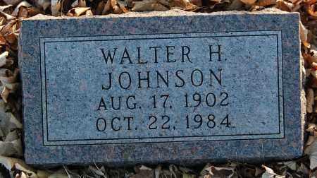 JOHNSON, WALTER H. - Minnehaha County, South Dakota | WALTER H. JOHNSON - South Dakota Gravestone Photos