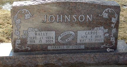 JOHNSON, WALLY - Minnehaha County, South Dakota | WALLY JOHNSON - South Dakota Gravestone Photos