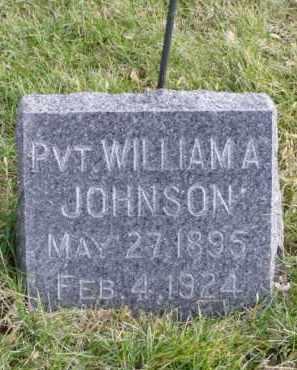 JOHNSON, WILLIAM A. - Minnehaha County, South Dakota | WILLIAM A. JOHNSON - South Dakota Gravestone Photos