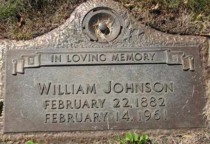 JOHNSON, WILLIAM - Minnehaha County, South Dakota | WILLIAM JOHNSON - South Dakota Gravestone Photos
