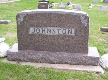 JOHNSTON, FAMILY MARKER - Minnehaha County, South Dakota | FAMILY MARKER JOHNSTON - South Dakota Gravestone Photos