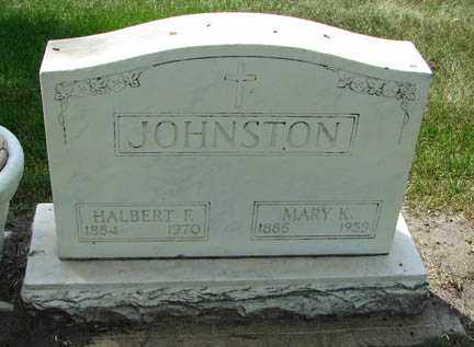 JOHNSTON, HALBERT F. - Minnehaha County, South Dakota | HALBERT F. JOHNSTON - South Dakota Gravestone Photos