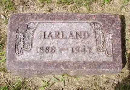 JOHNSTON, HARLAND - Minnehaha County, South Dakota | HARLAND JOHNSTON - South Dakota Gravestone Photos
