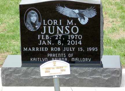HOUK JUNSO, LORI MARIE - Minnehaha County, South Dakota | LORI MARIE HOUK JUNSO - South Dakota Gravestone Photos