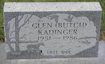 "KADINGER, GLEN ""BUTCH"" - Minnehaha County, South Dakota 