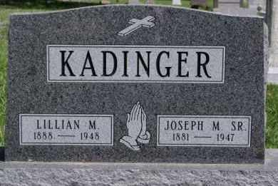 KADINGER, LILLIAN M - Minnehaha County, South Dakota | LILLIAN M KADINGER - South Dakota Gravestone Photos