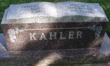 KAHLER, ERNEST I. - Minnehaha County, South Dakota | ERNEST I. KAHLER - South Dakota Gravestone Photos