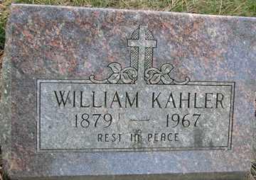 KAHLER, WILLIAM - Minnehaha County, South Dakota | WILLIAM KAHLER - South Dakota Gravestone Photos