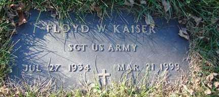 KAISER, FLOYD W. - Minnehaha County, South Dakota   FLOYD W. KAISER - South Dakota Gravestone Photos