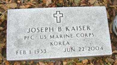 KAISER, JOSEPH B. - Minnehaha County, South Dakota | JOSEPH B. KAISER - South Dakota Gravestone Photos