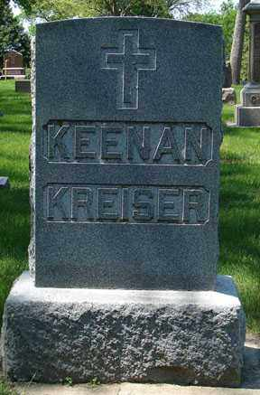 KREISER, HEADSTONE - Minnehaha County, South Dakota | HEADSTONE KREISER - South Dakota Gravestone Photos
