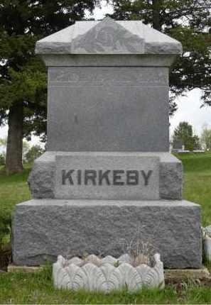 KIRKEBY, FAMILY MARKER - Minnehaha County, South Dakota | FAMILY MARKER KIRKEBY - South Dakota Gravestone Photos