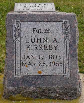 KIRKEBY, JOHN ANDERSON - Minnehaha County, South Dakota | JOHN ANDERSON KIRKEBY - South Dakota Gravestone Photos