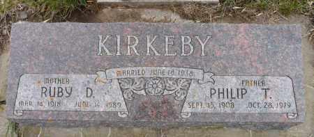 KIRKEBY, PHILIP T. - Minnehaha County, South Dakota | PHILIP T. KIRKEBY - South Dakota Gravestone Photos
