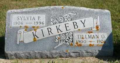 KIRKEBY, SYLVIA P. - Minnehaha County, South Dakota | SYLVIA P. KIRKEBY - South Dakota Gravestone Photos