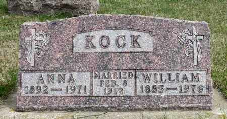 KOCK, WILLIAM - Minnehaha County, South Dakota | WILLIAM KOCK - South Dakota Gravestone Photos