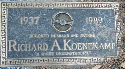 KOENEKAMP, RICHARD A. - Minnehaha County, South Dakota   RICHARD A. KOENEKAMP - South Dakota Gravestone Photos