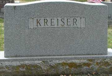 KREISER, FAMILY  MARKER - Minnehaha County, South Dakota | FAMILY  MARKER KREISER - South Dakota Gravestone Photos