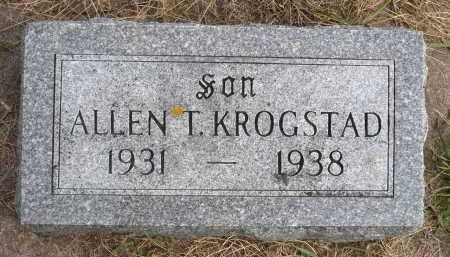 KROGSTAD, ALLEN T. - Minnehaha County, South Dakota | ALLEN T. KROGSTAD - South Dakota Gravestone Photos