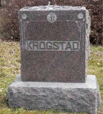 KROGSTAD, SIGRI - Minnehaha County, South Dakota | SIGRI KROGSTAD - South Dakota Gravestone Photos