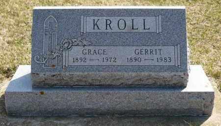 KROLL, GRACE - Minnehaha County, South Dakota | GRACE KROLL - South Dakota Gravestone Photos