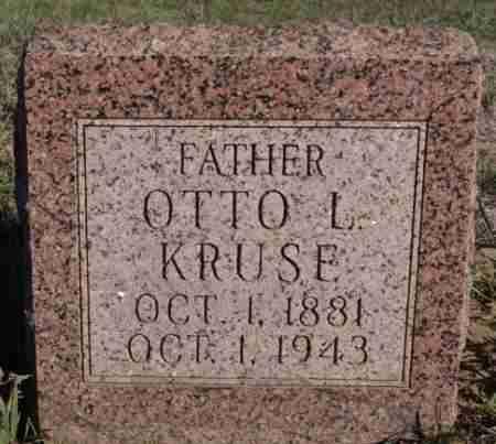 KRUSE, OTTO L - Minnehaha County, South Dakota | OTTO L KRUSE - South Dakota Gravestone Photos