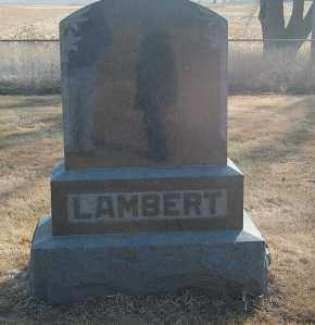 LAMBERT, FAMILY STONE - Minnehaha County, South Dakota | FAMILY STONE LAMBERT - South Dakota Gravestone Photos