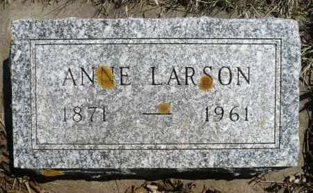 LARSON, ANNE - Minnehaha County, South Dakota | ANNE LARSON - South Dakota Gravestone Photos