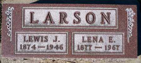 ANDERSON LARSON, LENA E. - Minnehaha County, South Dakota | LENA E. ANDERSON LARSON - South Dakota Gravestone Photos