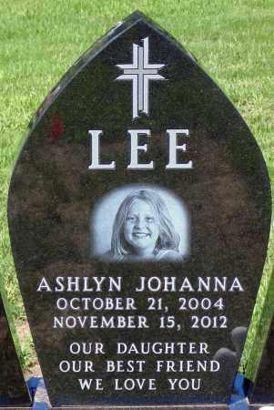 LEE, ASHLYN JOHANNA - Minnehaha County, South Dakota | ASHLYN JOHANNA LEE - South Dakota Gravestone Photos