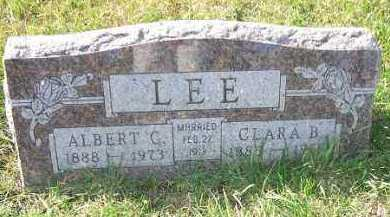 LEE, CLARA B. - Minnehaha County, South Dakota | CLARA B. LEE - South Dakota Gravestone Photos