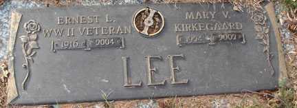 LEE, MARY V. - Minnehaha County, South Dakota | MARY V. LEE - South Dakota Gravestone Photos