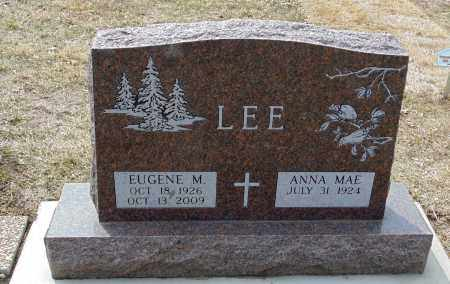 LEE, ANNA MAE - Minnehaha County, South Dakota | ANNA MAE LEE - South Dakota Gravestone Photos