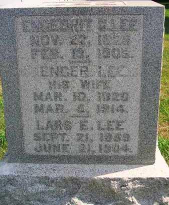 LEE, ENGEBRIT - Minnehaha County, South Dakota | ENGEBRIT LEE - South Dakota Gravestone Photos