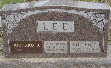 LEE, EILEEN D. - Minnehaha County, South Dakota | EILEEN D. LEE - South Dakota Gravestone Photos