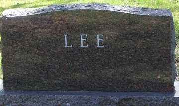 LEE, FAMILY MARKER - Minnehaha County, South Dakota | FAMILY MARKER LEE - South Dakota Gravestone Photos