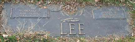 LEE, HOWARD A. - Minnehaha County, South Dakota | HOWARD A. LEE - South Dakota Gravestone Photos