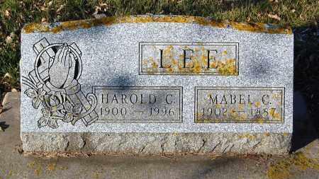 LEE, MABEL C. - Minnehaha County, South Dakota | MABEL C. LEE - South Dakota Gravestone Photos
