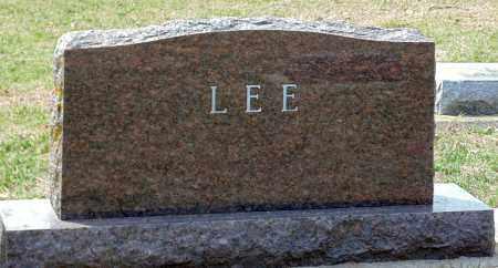 LEE, HEADSTONE - Minnehaha County, South Dakota | HEADSTONE LEE - South Dakota Gravestone Photos