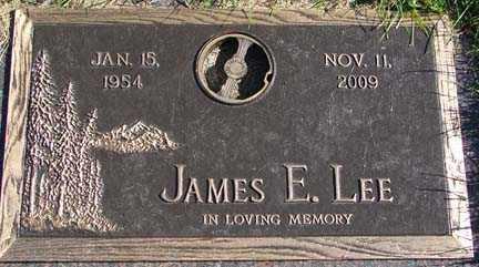 LEE, JAMES E. - Minnehaha County, South Dakota | JAMES E. LEE - South Dakota Gravestone Photos