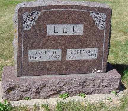 LEE, JAMES O. - Minnehaha County, South Dakota | JAMES O. LEE - South Dakota Gravestone Photos