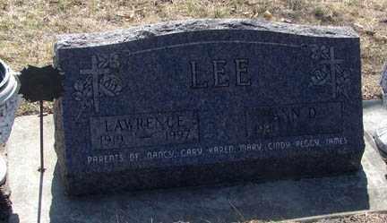 LEE, LAWRENCE - Minnehaha County, South Dakota | LAWRENCE LEE - South Dakota Gravestone Photos