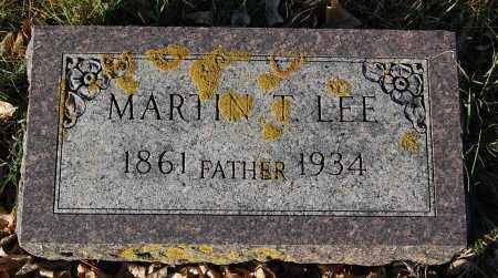 LEE, MARTIN T. - Minnehaha County, South Dakota | MARTIN T. LEE - South Dakota Gravestone Photos