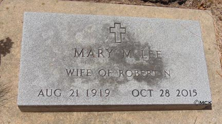 LEE, MARY M. - Minnehaha County, South Dakota | MARY M. LEE - South Dakota Gravestone Photos